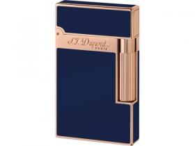 S.T. Dupont Linie 2 rosevergoldet, Chinalack blau