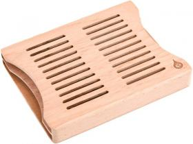 XiKar by Boveda Zedernholzhalterung für vier 60 Gramm Humidipac